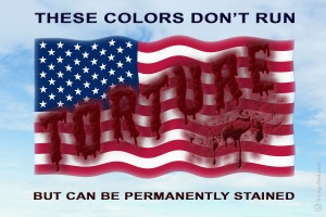 These Colors Don't Run, But Are Stained by Torture